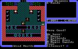 Ultima IV: Quest of the Avatar DOS Browsing the wares in one of the game's weapon shops