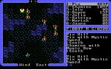 Ultima IV: Quest of the Avatar DOS Battle in a poisonous swamp! You retreat hastily