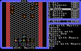 Ultima IV: Quest of the Avatar DOS Dungeon battle against disturbingly swastika-like spiders