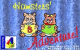 Hamsters' Adventure! DOS Title screen (unregistered shareware version)