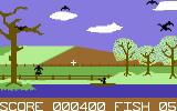 Flying Feathers Commodore 64 A fish is taken