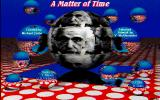 A Matter of Time DOS Title screen (unregistered shareware version)