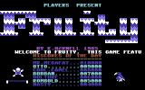Fruity Commodore 64 Title Screen