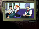 Neon Genesis Evangelion: Kōtetsu no Girlfriend Windows In train