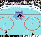 NHL 2000 Game Boy Color Flyers vs. Canucks - American-Canadian Matchup