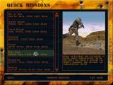 Delta Force 2 Windows Quick missions selection