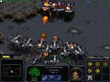 StarCraft: Brood War Windows Two powerful fleets of battlecruisers in the heat of the battle.