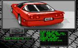 Burning Rubber Amiga US Car Selection-Corvette L-1