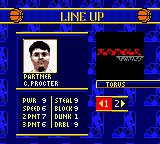 "NBA Showtime: NBA on NBC Game Boy Color Yeah, one of the ""secret"" teams. Torus games."