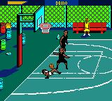 NBA Showtime: NBA on NBC Game Boy Color Ouch. Take the ball.
