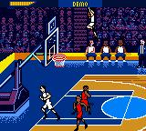 NBA Showtime: NBA on NBC Game Boy Color Wahhhhhhhh, super-man, lah.
