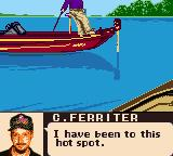 "Bass Masters Classic Game Boy Color Lucky you then, ""boss""."