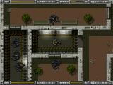 Alien Breed: Tower Assault DOS Surrounded by aliens