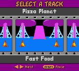 Disney•Pixar Toy Story Racer Game Boy Color Quick race. Select a track.
