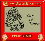 Disney•Pixar Toy Story Racer Game Boy Color Out of time.
