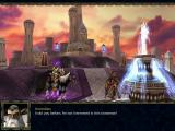 Warcraft III: Reign of Chaos Windows Cinematics are using ingame engine, but they do try to make a close-up on the characters at hand.