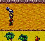 Jeremy McGrath Supercross 2000  Game Boy Color The race just started.