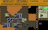 Dune II: The Building of a Dynasty DOS Atreides base in one of the earlier missions.