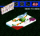 Micro Machines V3 Game Boy Color Baguette Balance.
