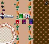 Micro Machines V3 Game Boy Color Challenge mode. More opponents...