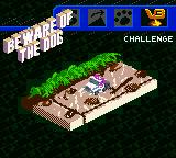 Micro Machines V3 Game Boy Color Beware of the dog.