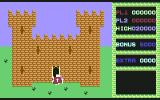 Cavelon II Commodore 64 Now entering the castle