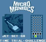 "Micro Maniacs Game Boy Color Mode: Time Trial - Challenge. So many ""stages""."