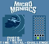 Micro Maniacs Game Boy Color Photo Finish.