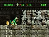 Gex PlayStation In temple