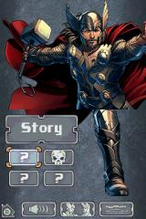 Thor: God of Thunder Nintendo DS Main menu.