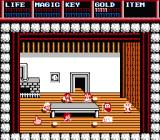 Legacy of the Wizard NES Choosing the family members