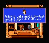 King's Quest V NES Talking to Crispin