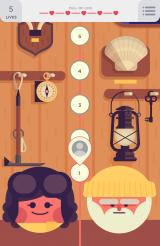 TwoDots Android The beginning of the level selection screen