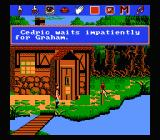 King's Quest V: Absence Makes the Heart Go Yonder NES Classic Sierra interface: choose an action, click on the object you want to interact with