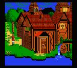 King's Quest V: Absence Makes the Heart Go Yonder NES Nice water mill!