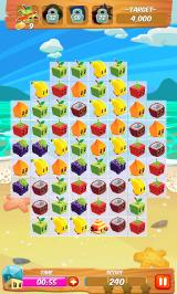 Juice Cubes Android A timed game