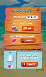 Juice Cubes Android Out of hearts