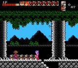 Wai Wai World NES Enemy with spear