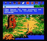 King's Quest V: Absence Makes the Heart Go Yonder NES Sir Graham and a bear