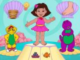 Barney Under the Sea Windows This is BJ's Giant Shell where the player has to identify and click on body parts.