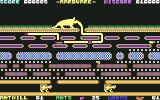 Aardvark Commodore 64 The spider follows the anteater's snout