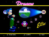 NiGHTS into Dreams... Windows Select character (classic mode)