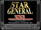 Star General Windows The game's title screen