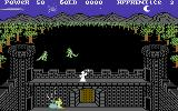 Gandalf the Sorcerer Commodore 64 Shoot the Lizardmen