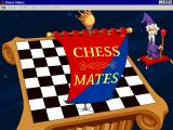 Chess Mates Windows The game loads and displays the chess board. The Wizard talks for a bit before producing the banner