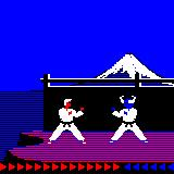 Karateka Palm OS First fight
