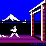 Karateka Palm OS I was knocked out