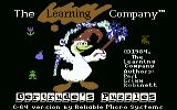 Gertrude's Puzzles Commodore 64 Title screen