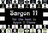 Sargon II Apple II Title screen