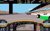 Indianapolis 500: The Simulation DOS Behind the wheel of Penske Chevrolet (VGA)